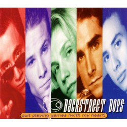 Backstreet Boys – Quit Playing Games (With My Heart) - CD Maxi Single