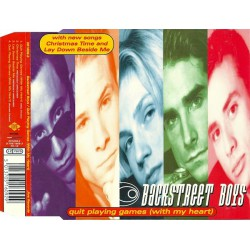 Backstreet Boys ‎– Quit Playing Games (With My Heart) - CD Maxi Single
