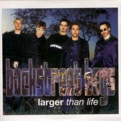 Backstreet Boys – Larger Than Life - CD Single