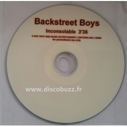 Backstreet Boys - Inconsolable - CD Single Promo