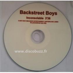 Backstreet Boys - Inconsolable - CD Single Promo