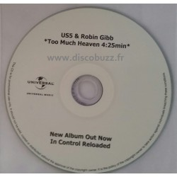 US5 & Robin Gibb ( Bee Gees ) - Too Much Heaven - CDr Single Promo