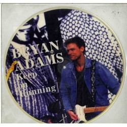 Bryan Adams ‎– Keep On Running - Picture Disc