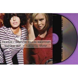 Texas / Sophie Ellis-Bextor ‎– Carnival Girl / Mixed Up World - CD Single Promo
