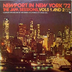 Newport In New York '72 - The Jam Sessions, Vols 1,2,3 & 4 - Compilation LP Vinyl