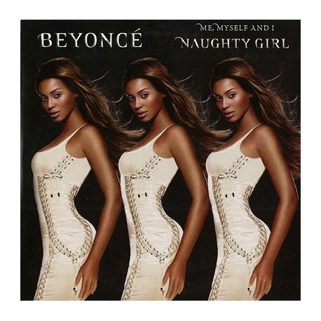 Beyoncé - Me, Myself And I / Naughty Girl - CD Single Promo