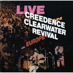 Creedence Clearwater Revival - Live In Europe - LP Vinyl