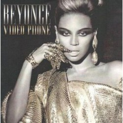 Beyoncé Featuring Lady Gaga - Video Phone - CDr Single Promo