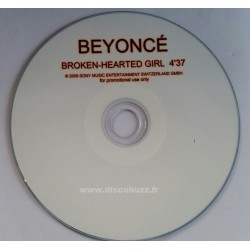 Beyoncé - Broken - Hearted Girl - CDr Single Promo
