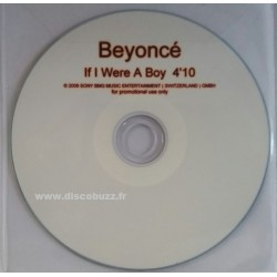 Beyoncé ‎- If I Were A Boy - CDr Single Promo