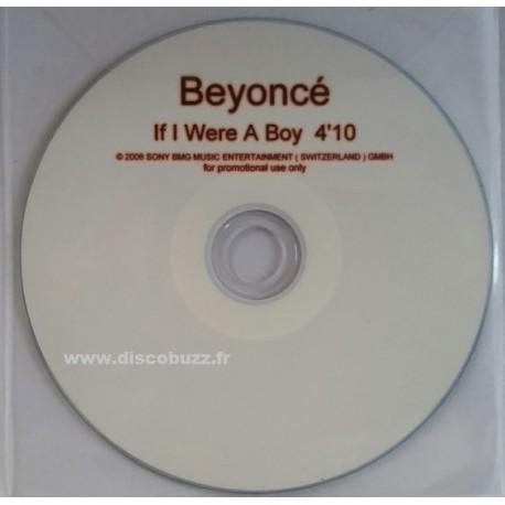 Beyoncé - If I Were A Boy - CDr Single Promo