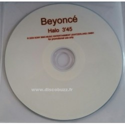 Beyoncé - Halo - CDr Single Promo