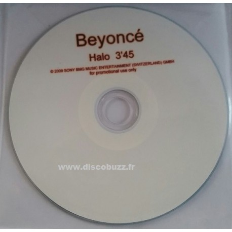 Beyoncé - Halo - CDr Single Promo