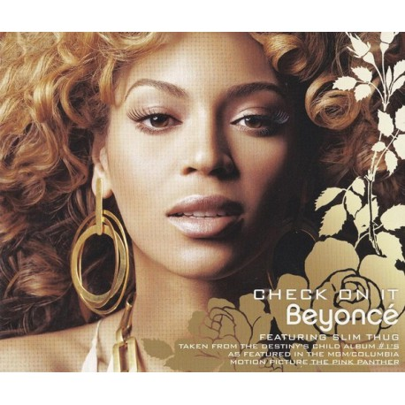 Beyoncé Featuring Slim Thug - Check On It - CD Maxi Single