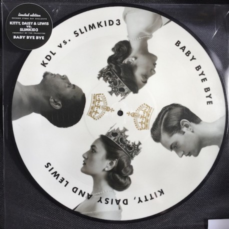Kitty, Daisy & Lewis - Baby Bye Bye - Picture Disc - Maxi Vinyl