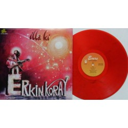 Erkin Koray ‎- Illâ Ki - LP Vinyl - Coloured Red