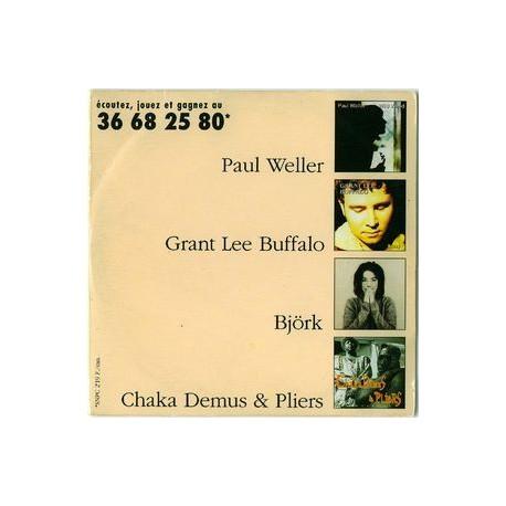 Björk, Paul Weller, etc. - Écoutez, Jouez Et Gagnez Au 36 68 25 80 - Compilation - CD Single Promo