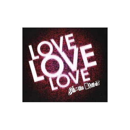 James Blunt ‎- Love Love Love - CD Maxi Single Promo