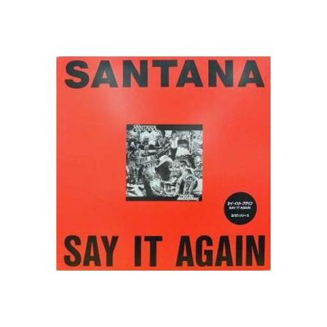 Santana / Karen Kamon - Say It Again / Steal The Night - Maxi Vinyl Promo