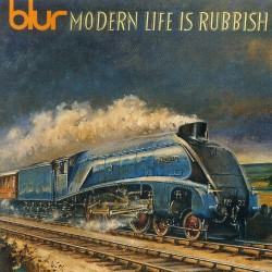 Blur ‎– Modern Life Is Rubbish - Clear Version LP