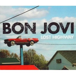Bon Jovi ‎- Lost Highway - CD Maxi Single