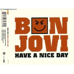 Bon Jovi ‎- Have A Nice Day - CD Maxi Single