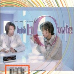 David Bowie ‎- Thursday's Child - CD Single Promo