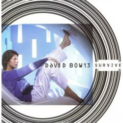 David Bowie ‎- Survive - CD Single Promo
