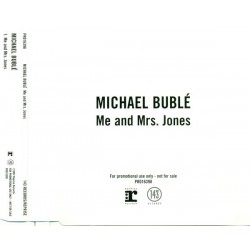 Michael Bublé ‎- Me And Mrs Jones - CD Maxi Single Promo