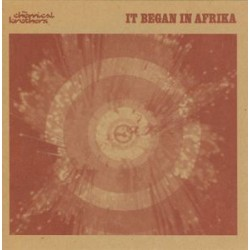 The Chemical Brothers - It Began In Afrika - CD Single Promo