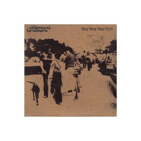 The Chemical Brothers - Hey Boy Hey Girl - CD Single Promo