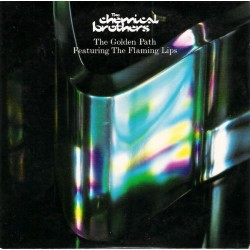 The Chemical Brothers Featuring Flaming Lips, The ‎- The Golden Path - CD Single Promo