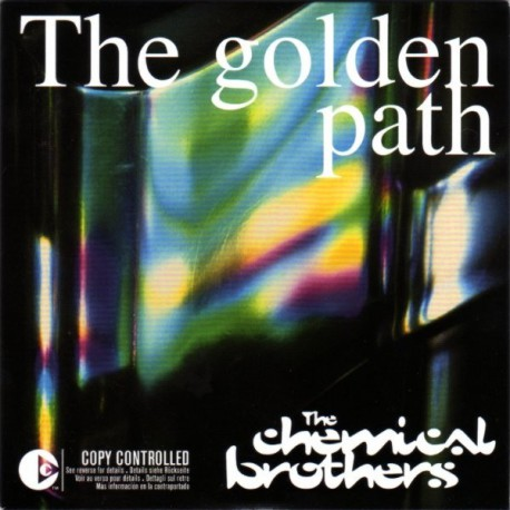 The Chemical Brothers -The Golden Path - CD Single Promo