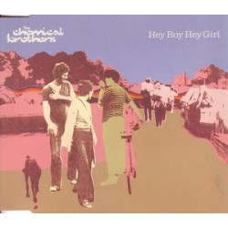 The Chemical Brothers - Hey Boy Hey Girl - CD Maxi Single