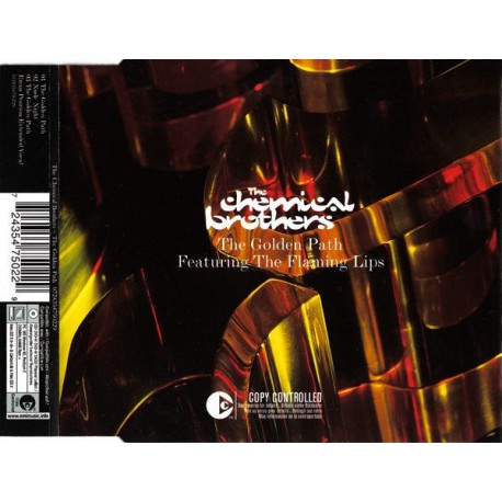 The Chemical Brothers Featuring Flaming Lips, The - The Golden Path - CD Maxi Single