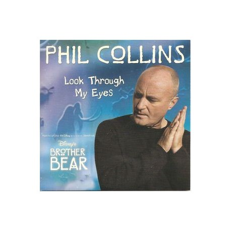 Phil Collins ‎- Look Through My Eyes - CD Single Promo
