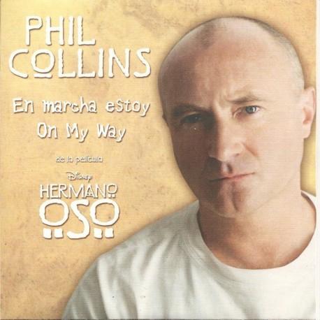 Phil Collins - En Marcha Estoy / On My Way - CD Single Promo