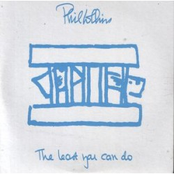 Phil Collins ‎- The Least You Can Do - CD Single Promo