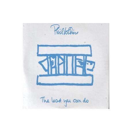 Phil Collins - The Least You Can Do - CD Single Promo