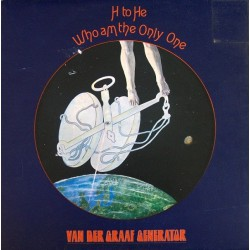 Van Der Graaf Generator ‎- H To He Who Am The Only One - LP Vinyl Gatefold