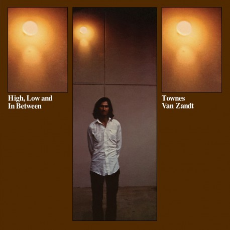 Townes Van Zandt ‎- High, Low And In Between  - LP Vinyl
