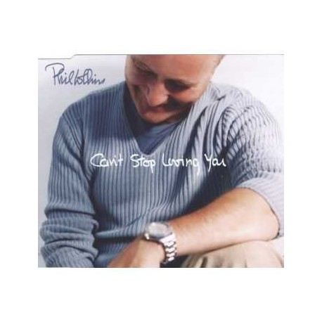 Phil Collins ‎– Can't Stop Loving You - CD Maxi Single
