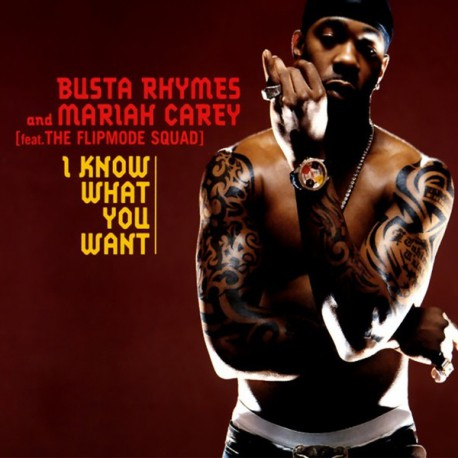 Busta Rhymes And Mariah Carey ‎- I Know What You Want - CDr Single Promo