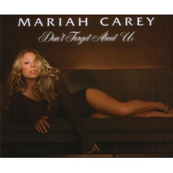Mariah Carey ‎- Don't Forget About Us - CD Maxi Single