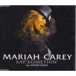 Mariah Carey ‎- Say Somethin' - CD Maxi Single