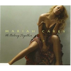 Mariah Carey ‎- We Belong Together - CD Maxi Single + Poster