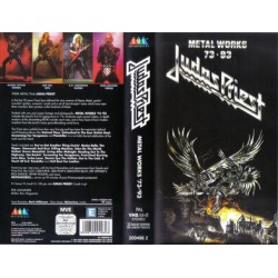 Judas Priest ‎– Metal Works 73 - 93 VHS Vidéo