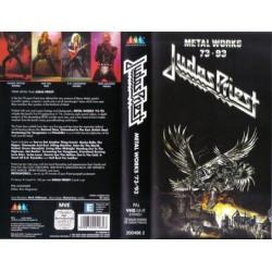 Judas Priest – Metal Works 73 - 93 VHS Vidéo