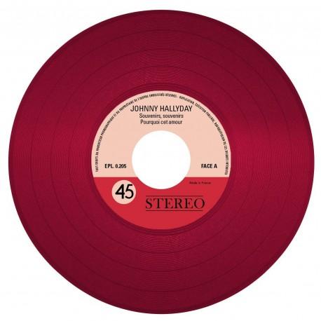 souvenirs, souvenirs - je cherche une fille, vinyle rouge