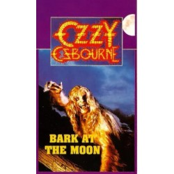 Ozzy Osbourne ‎– Bark At The Moon VHS Vidéo